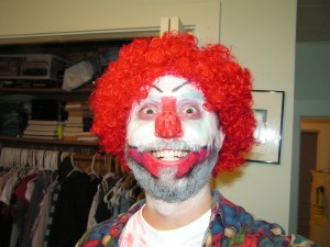 fienster the clown 300x225 Happy Halloween from the Gurus